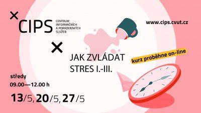Jak zvládat stres I.-III.- online seminář