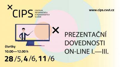 Prezentační dovednosti on-line I.-III.