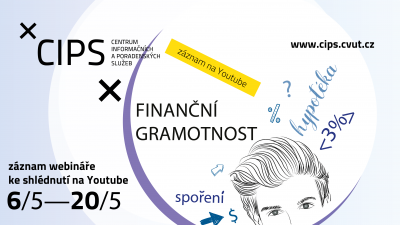 Finanční gramotnost – záznam přednášky ke shlédnutí na YouTube