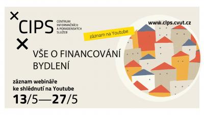 Vše o financování bydlení – záznam přednášky ke shlédnutí na YouTube