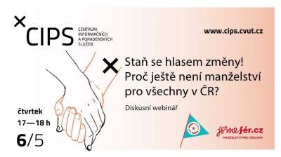 Staň se hlasem změny! Proč ještě není manželství pro všechny v ČR?