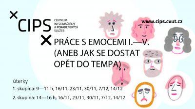 Práce s emocemi I.-V. cyklus seminářů pro doktorandy 2. skupina